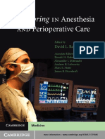2011 Monitoring in Anesthesia and Perioperative Care