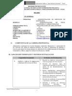 161822838 Silabus de Organizacion de Pisos