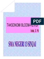 Taksonomi Bloom Revisi 2017