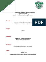 Transmisión y Atenuación de La Onda Electromagnética