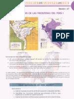 DELIMITACÓN DE LAS FRONTERAS DEL PERÚ I
