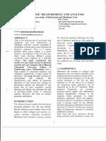 Harmonic Measurement and Analysis17