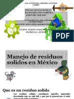 Manejo de Residuos Solidos en Mexico