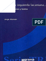 Aleman Jorge - Para Una Izquierda Lacaniana