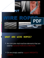 Me 522 Wire Rope Lecture 10-11
