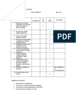 Courseware Evaluation Checklist