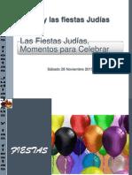 1Las Fiestas Judías, Momentos para Celebrar   1.pptx