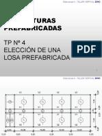 EIII P6 y EIV P5-Repaso- Prefabricados