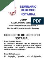 Seminario Derecho Notarial Usmp 2014-1 Parte 1 (2)