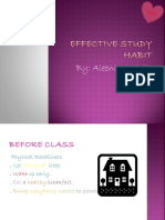 Effective Study Habit