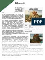La Torre de Babel (Brueghel)