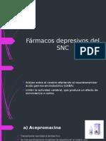 Fármacos Depresivos Del SNC