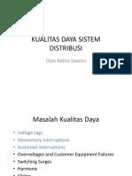 Kualitas Daya Sistem Distribusi