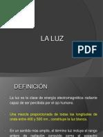 La Luz - Caracteristicas