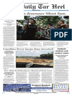 The Daily Tar Heel for August 23, 2017