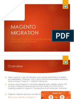 All About Magento Migration - Magento 2 Migration - Magento Migration Service