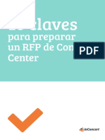 10 Claves Para Preparar Un RFP de Contact Center