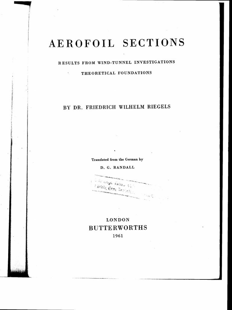 Ral 9010 Oder 9016 riegelsaerofoilsections pdf wind tunnel boundary layer