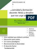 3. Mtro. Humberto J. Rodríguez - Diversidad y Formación Docente, Retos y Desafíos Que Nos Urge Atender