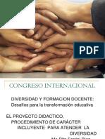 1. Dra. María Rita Ferrini - Los Proyectos Didácticos Como Instrumento