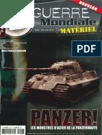 2e Guerre Mondiale Material Panzer! Les Monstres D'Acier de La Panzerwaffe