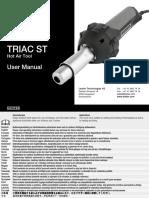 Leister Plastic-Welding BA TRIAC-ST All