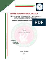 INFORME Proyecto Final Seguidor de Linea