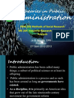 theoriesinpublicadministration-130201220943-phpapp01