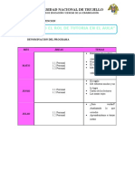 Planifiacion e Sesiones