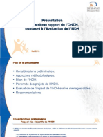 Presentation Du 4eme Rapport de Londh Consacre a Levaluation de Lindh
