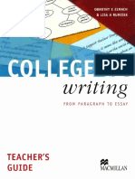 College writing teacher's guide.pdf