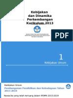 1. Dinamika Perkembangan Kurikulum 2013 Rev