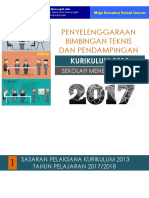 4. Bimtek Dan Pendampingan K-13 2017,Instruktur-GS Rev