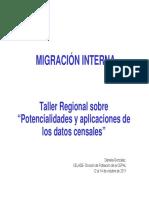 Migraciones internas
