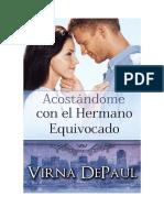 Virna DePaul - Serie Hermanos Dalton - 1 Acostándome con el Hermano Equivocado.pdf