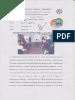 Resumen de Conferencia - VI Foro Ambiental El Oro 2017