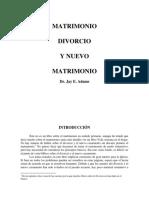 Matrimonio Divorcio y Nuevo Matrimonio.pdf