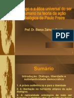 CURSO ETICA E DEMOCRACIA EM PAULO FREIRE - Prof. Dr. Bianco Zalmora Garcia