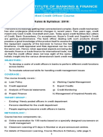 Certified Credit Officer Course