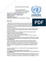 UN Under-Secretary-General expresses support for progress in Somalia