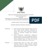 PMK No. 34 Ttg Perubahan Standar Pelayanan Kefarmasian Di Rumah Sakit