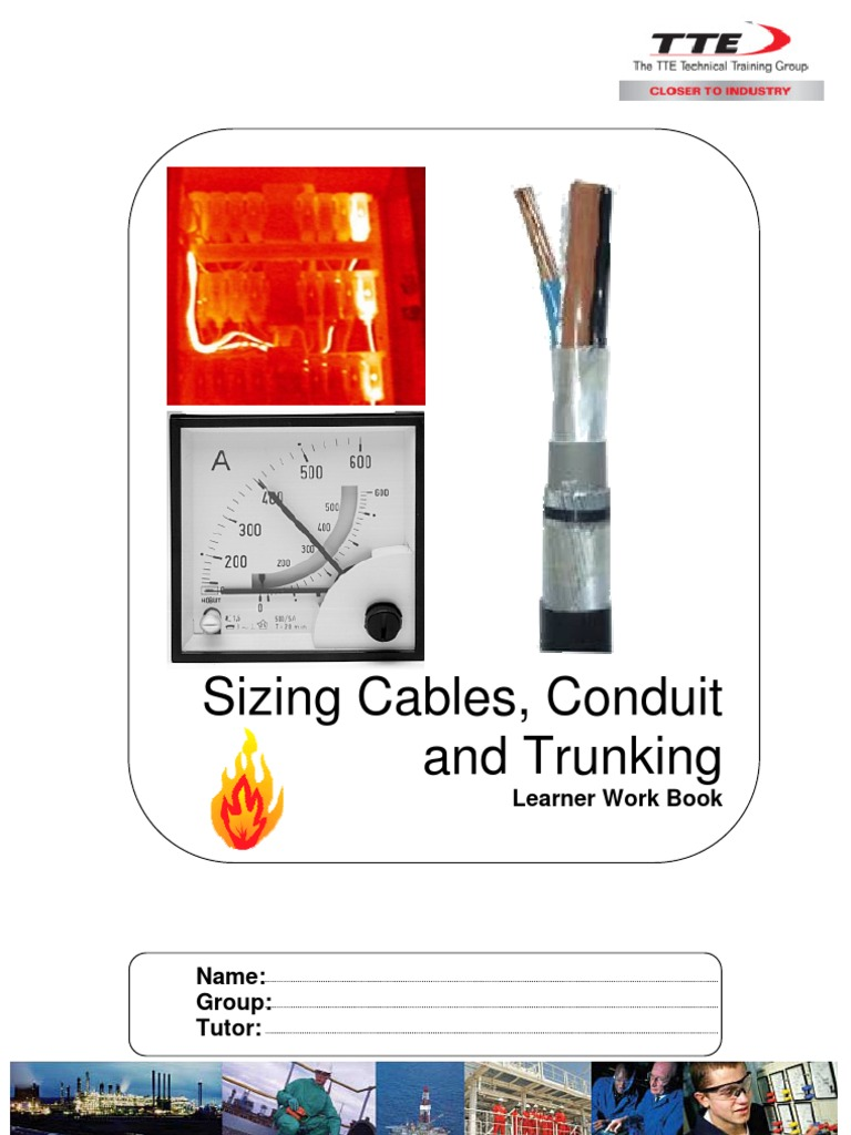 Sizing cables conduit and trunking capacitor electric current keyboard keysfo Image collections