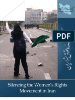 Silencing the Women's Rights Movement in Iran