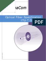 DS GG 00023 1 en Rev a Optical Fiber G652D