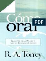 R. A. Torrey - Como Orar.pdf