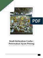 Laporan Studi Kelayakan Bisnis Peternakan Ayam Potong