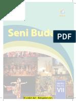 Buku Seni Budaya Kelas 7 Revisi 2016
