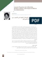 L'Autonomie Financière Des Collectivités Najat Zerrouk