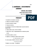 Manual de Albañileria y Revestimientos Cerámicos