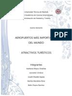 Aeropuertos y Atractivos - Grupal